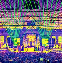 lasershow events