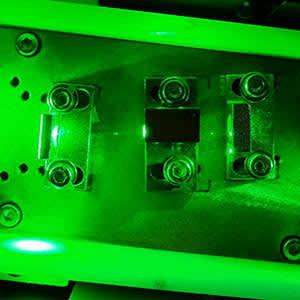 laser support
