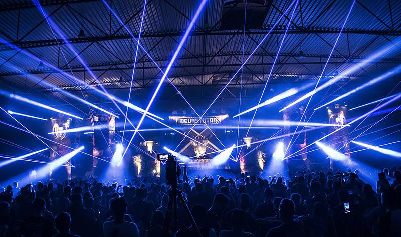 Laser show beam